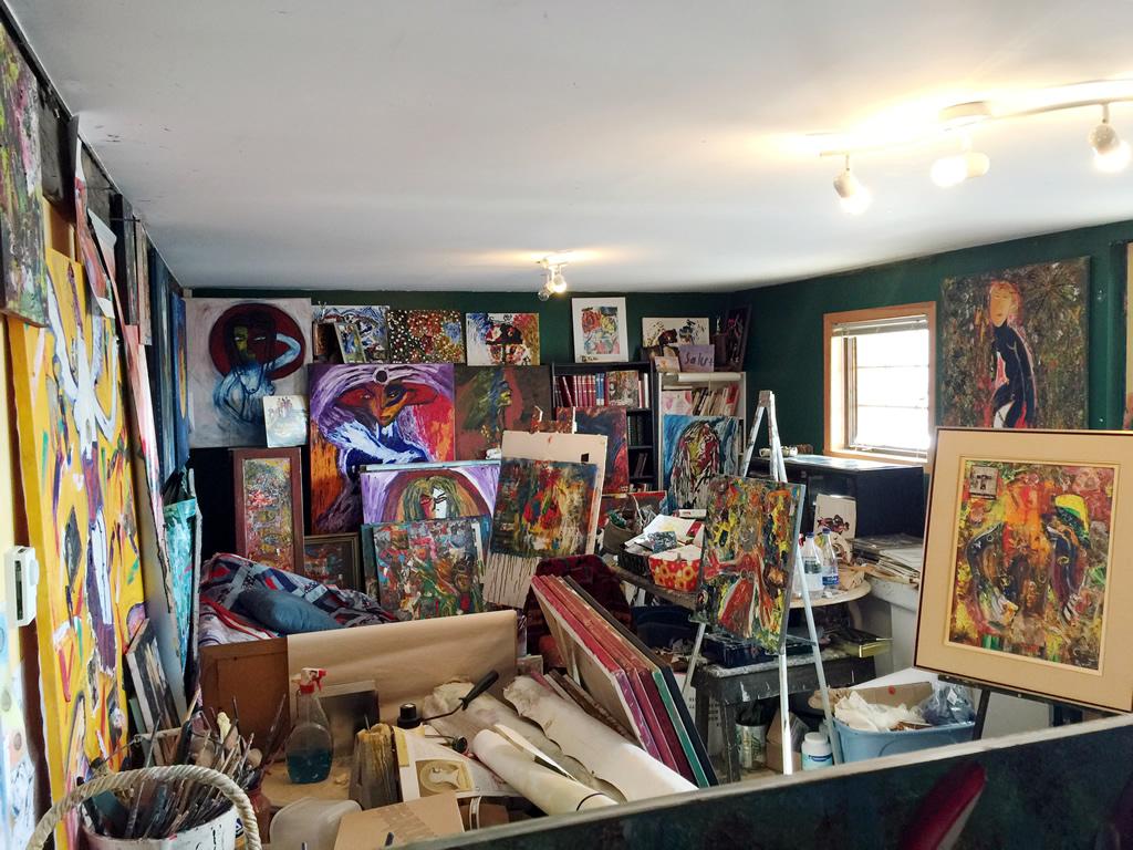 Atelier de Pierre Poulin