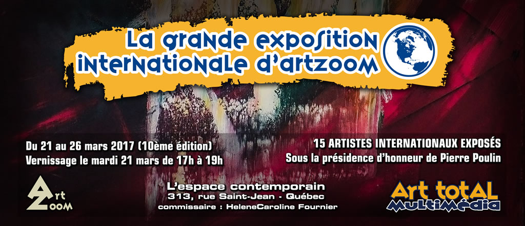 La Grande Exposition Internationale d'ArtZoom 10e édition