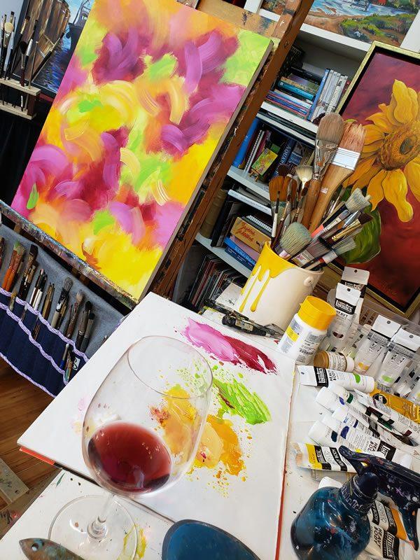 Dans l'atelier de Céline Roger