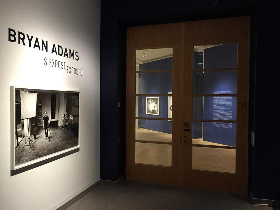 Bryan Adams s'expose