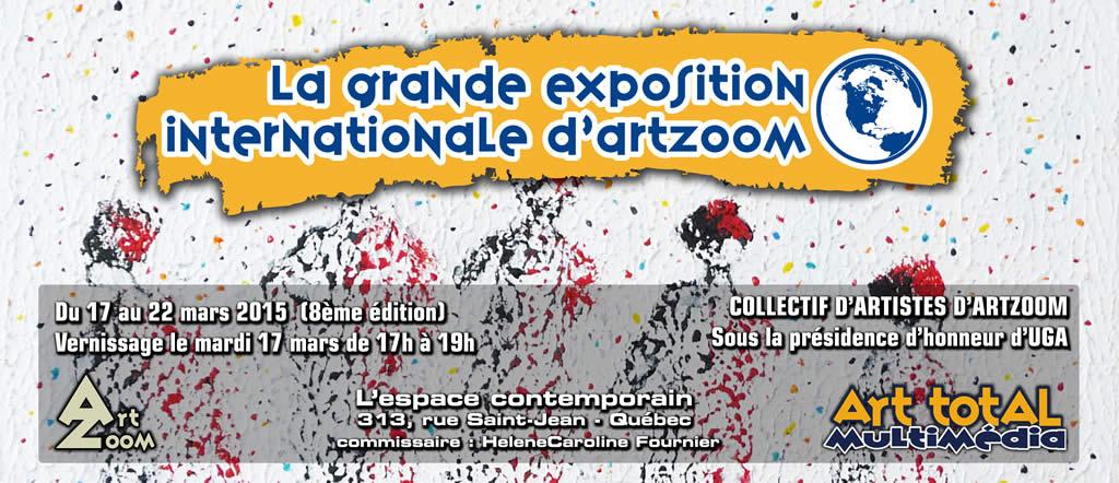 8ème édition de La Grande Exposition Internationale d'ArtZoom