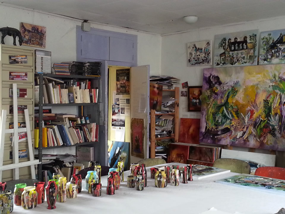 Atelier de Muriel Cayet